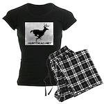 Hunt Dead Deer Women's Dark Pajamas