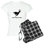 Hunt Dead Deer Women's Light Pajamas