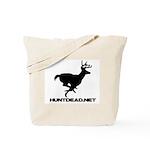 Hunt Dead Deer Tote Bag