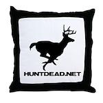 Hunt Dead Deer Throw Pillow