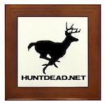 Hunt Dead Deer Framed Tile