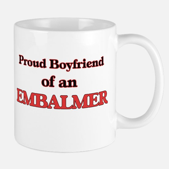 Proud Boyfriend of a Embalmer Mugs