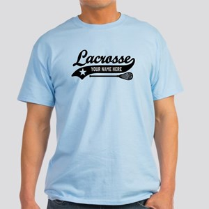 Lacrosse Personalized Light T-Shirt