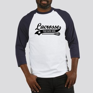 Lacrosse Personalized Baseball Jersey
