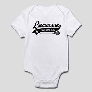 Lacrosse Personalized Infant Bodysuit