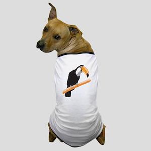 Realistic Toucan Design Dog T-Shirt