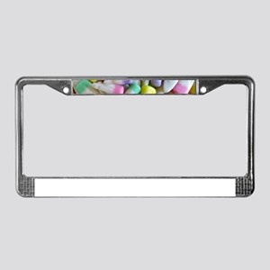 Easter Candy Corn License Plate Frame