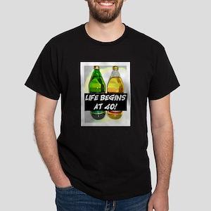 LIFE BEGINS AT 40! #3 Dark T-Shirt