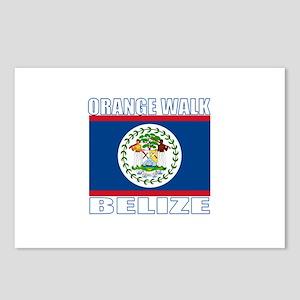 Orange Walk, Belize Postcards (Package of 8)