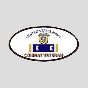 Navy E Ribbon - Cbt Vet - E2 Patch