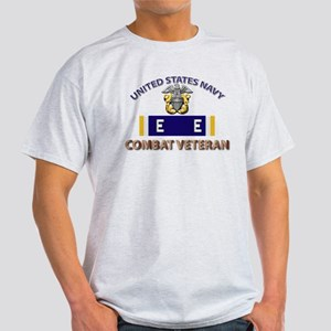 Navy E Ribbon - Cbt Vet - E2 Light T-Shirt