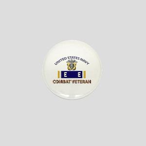 Navy E Ribbon - Cbt Vet - E2 Mini Button