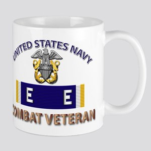 Navy E Ribbon - Cbt Vet - E2 Mug