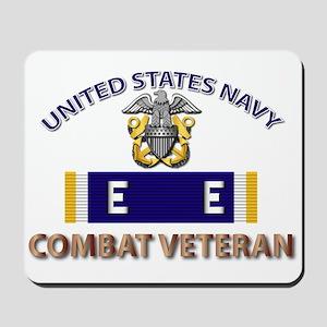 Navy E Ribbon - Cbt Vet - E2 Mousepad
