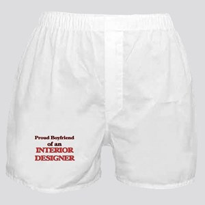 Proud Boyfriend of a Interior Designe Boxer Shorts