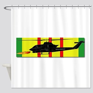 Vietnam - VCM - AH-1 Cobra Shower Curtain
