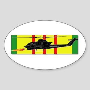 Vietnam - VCM - AH-1 Cobra Sticker (Oval)