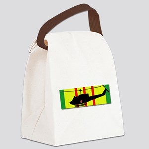 Vietnam - VCM - UH-1 Huey - Medie Canvas Lunch Bag