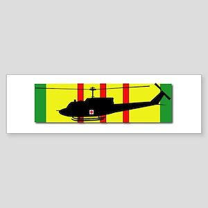 Vietnam - VCM - UH-1 Huey - Medie Sticker (Bumper)