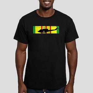 Vietnam - VCM - UH-1 H Men's Fitted T-Shirt (dark)
