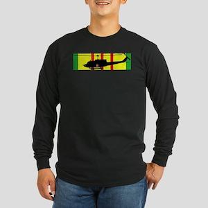 Vietnam - VCM - UH-1 Huey Long Sleeve Dark T-Shirt