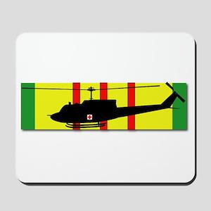 Vietnam - VCM - UH-1 Huey - Medievac Mousepad