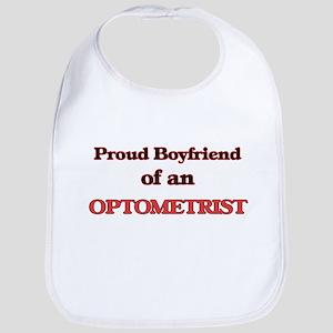 Proud Boyfriend of a Optometrist Bib