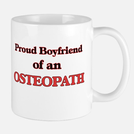 Proud Boyfriend of a Osteopath Mugs