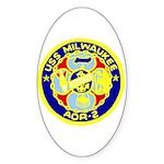 USS Milwaukee (AOR 2) Oval Sticker