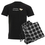 Chicken Wrangler Men's Dark Pajamas