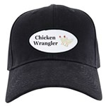 Chicken Wrangler Black Cap