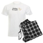 Chicken Wrangler Men's Light Pajamas