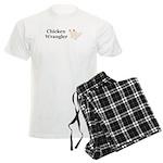 Chicken Wrangler Men's Light Pajamas