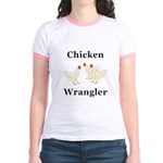 Chicken Wrangler Jr. Ringer T-Shirt