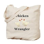 Chicken Wrangler Tote Bag
