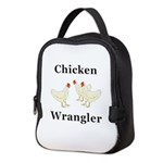 Chicken Wrangler Neoprene Lunch Bag