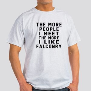 I Like More Falconry Light T-Shirt