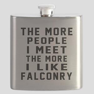 I Like More Falconry Flask