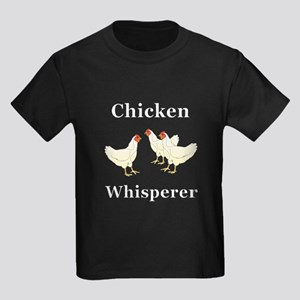 Chicken Whisperer Kids Dark T-Shirt