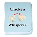 Chicken Whisperer baby blanket