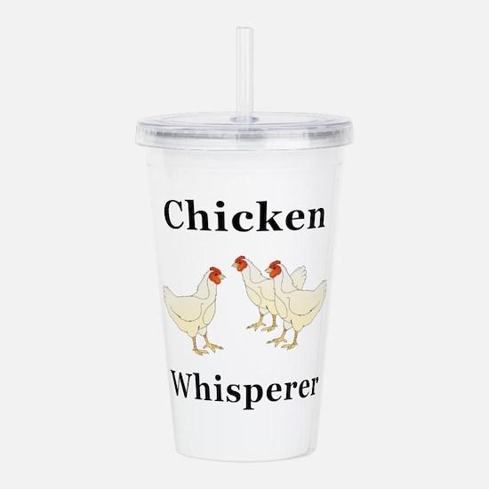 Chicken Whisperer Acrylic Double-wall Tumbler
