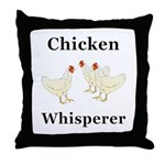 Chicken Whisperer Throw Pillow