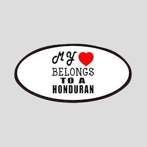 I Love Honduran Patch