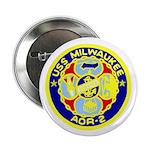 """USS Milwaukee (AOR 2) 2.25"""" Button (100 pack)"""