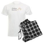 Chicken Rancher Men's Light Pajamas