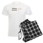 Chicken Rancher Men's Light Pajamas