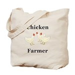 Chicken Farmer Tote Bag