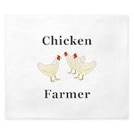 Chicken Farmer King Duvet