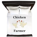 Chicken Farmer King Duvet