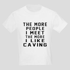 I Like More Caving Kids Light T-Shirt